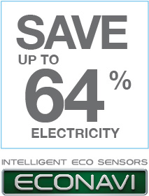 ECONAVI, Save Up To 64%* Electricity