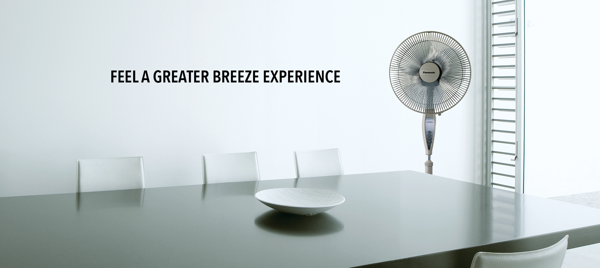 Panasonic General Fans are portable and convenient to use. With easy assembly and maintenance, durable motors and one-touch oscillation angles.