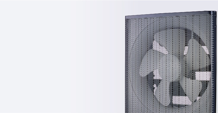 Ventilation Fan - Healthy Air Exchange For a Healthy Living Environment.